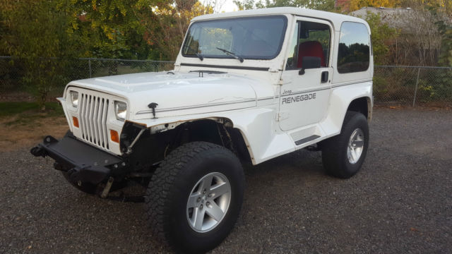 1991 jeep wrangler yj renegade 4 0 high output classic jeep wrangler 1991 for sale. Black Bedroom Furniture Sets. Home Design Ideas