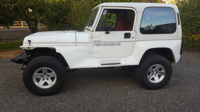 1991 jeep wrangler yj renegade 4 0 high output classic. Cars Review. Best American Auto & Cars Review