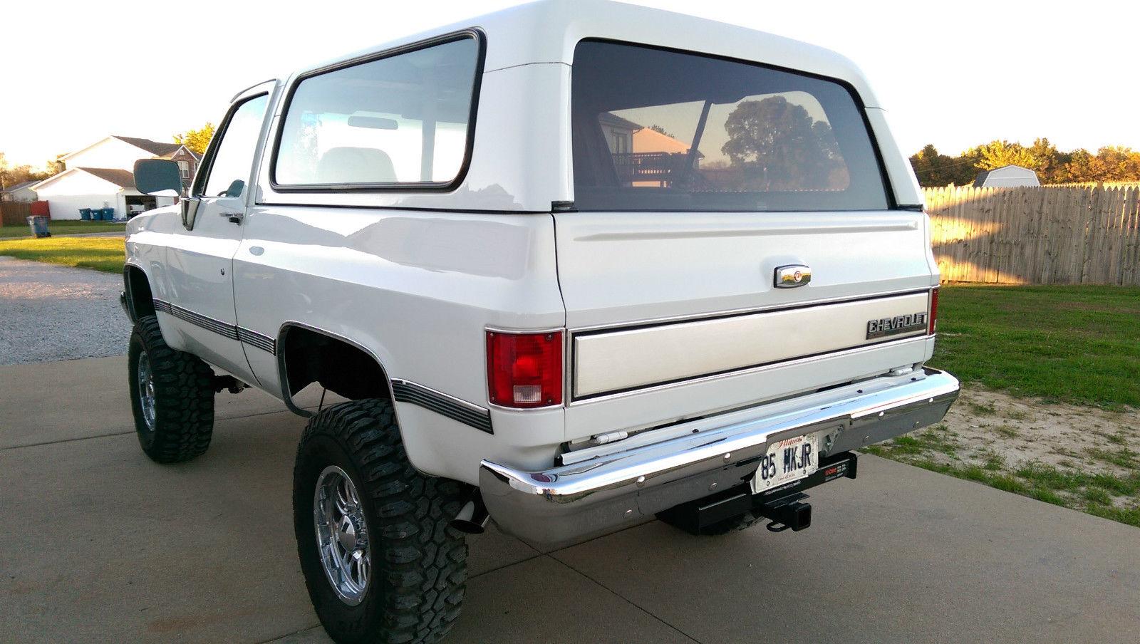 1991 k5 Blazer Classic Chevrolet Blazer 1991 for sale