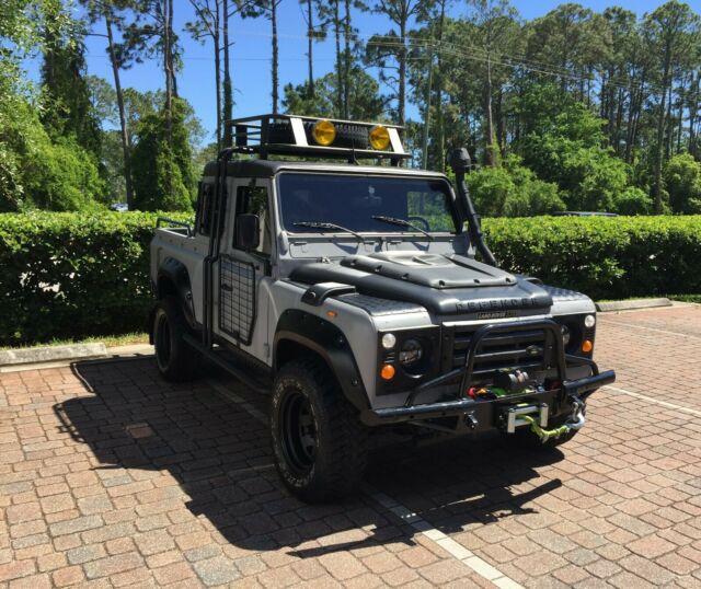 1991 Land Rover Defender 110 Extended Cab Pickup