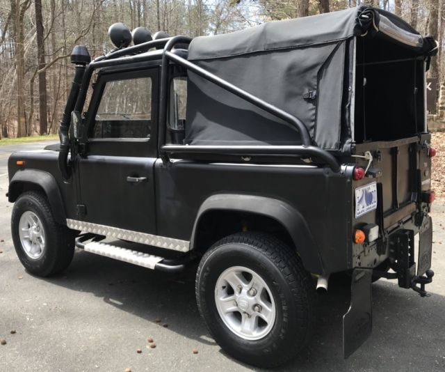 1991 LAND ROVER DEFENDER 90 SOFT TOP/PICK UP 200TDI TURBO