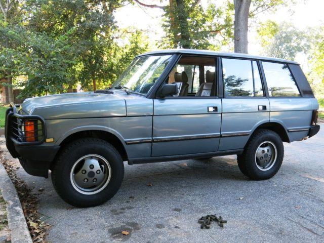 1991 Land Rover Range Rover Classic 3 9l Classic Land