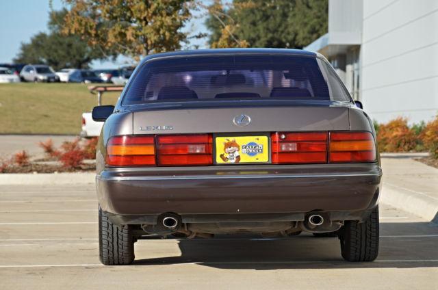 Park Place Lexus >> 1991 Lexus LS400 * LOW 68k miles * 1-OWNER * 1UZFE * NO RESERVE AUCTION! - Classic Lexus LS 1991 ...