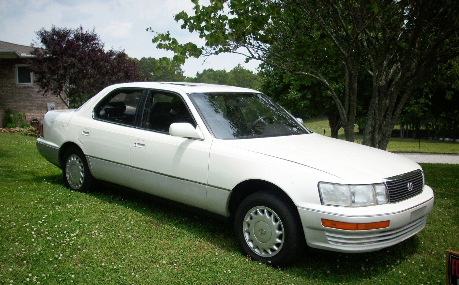 1991 Lexus Ls400 White Very Nice Condition Classic Lexus