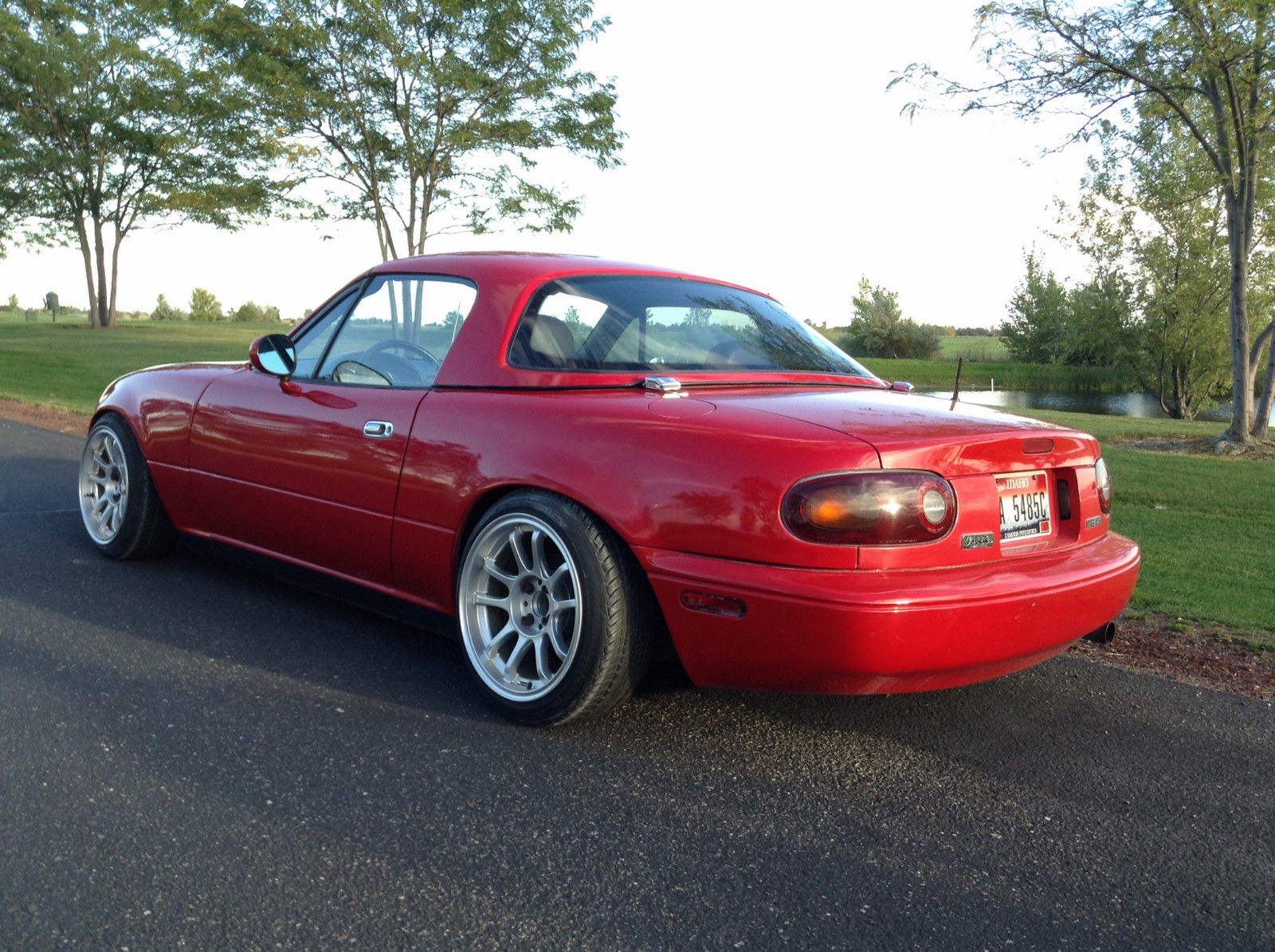 1991 mazda miata mx 5 se convertible 2 door 1 6l hardtop. Black Bedroom Furniture Sets. Home Design Ideas