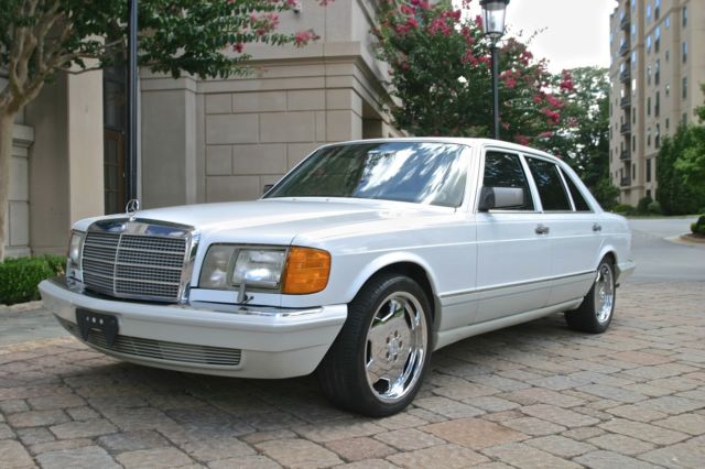 1991 mercedes 560sel 32k miles loaded serviced mint classic mercedes benz 500 series 1991. Black Bedroom Furniture Sets. Home Design Ideas