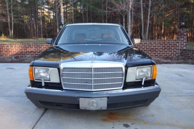 1991 mercedes benz 350 sd turbo diesel classic mercedes for Mercedes benz turbo diesel