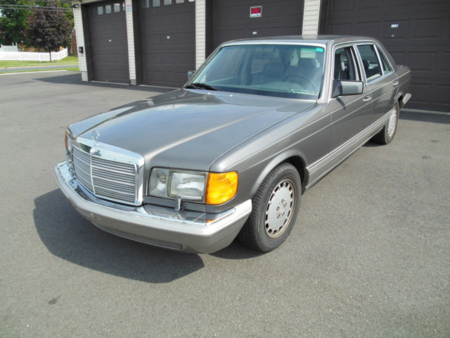 1991 mercedes benz 420sel runs and drives well current pa for 1991 mercedes benz 420sel