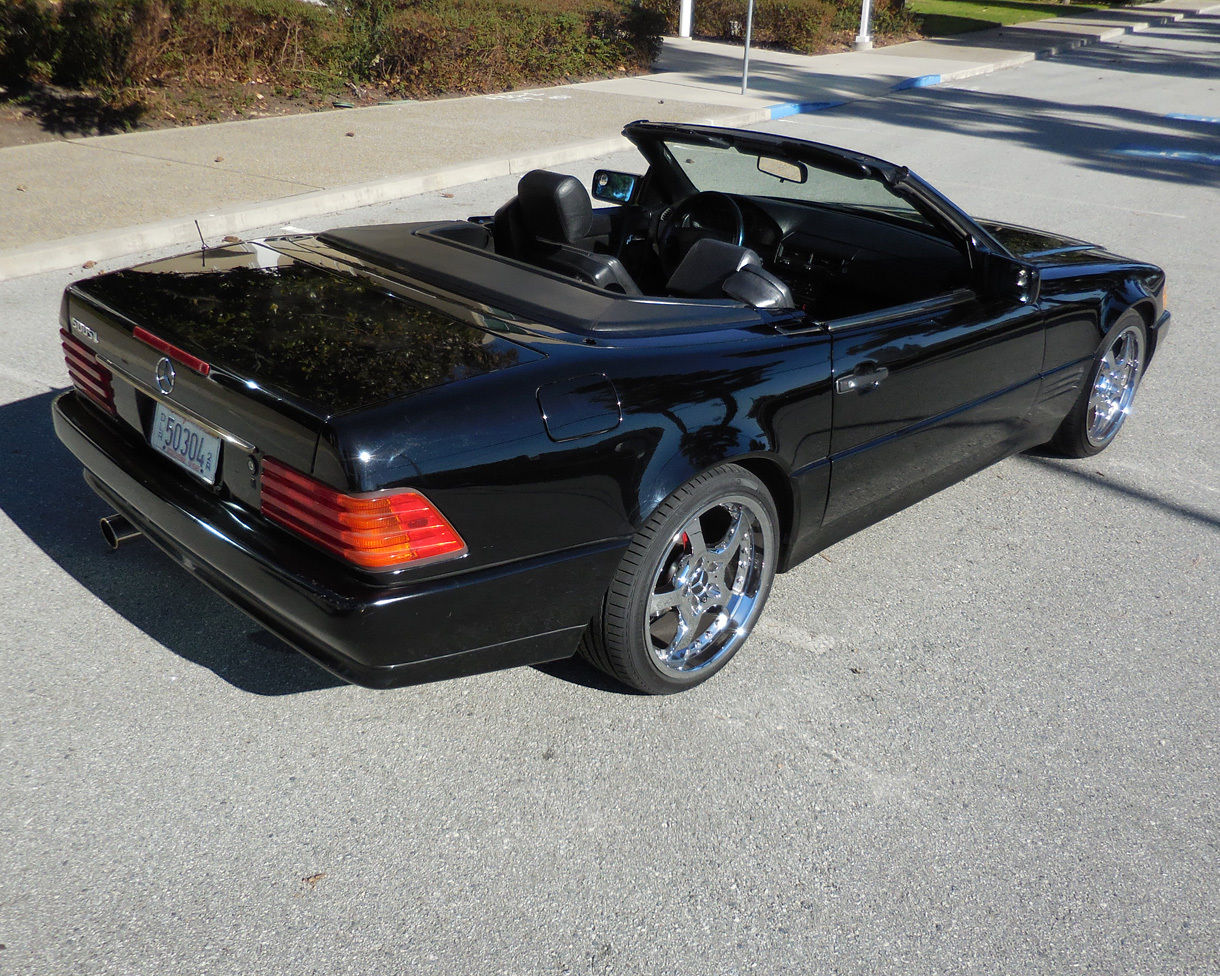 1991 mercedes benz 500sl roadster rust free nv car with for Mercedes benz 500 sl