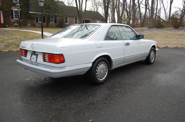 1991 mercedes benz 560sec coupe runs great 5 6 liter v8 for 1991 mercedes benz 560sec for sale