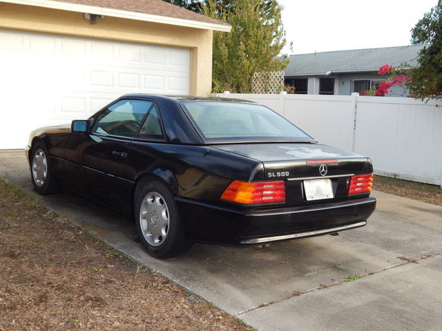 1991 mercedes sl 500 classic mercedes benz 500 series 1991 for sale. Black Bedroom Furniture Sets. Home Design Ideas