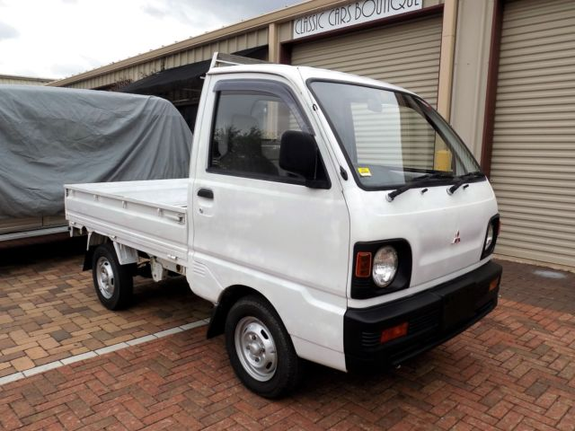 1991 mitsubishi mini truck rwd 4 speed atv utv classic car pickup honda classic mitsubishi. Black Bedroom Furniture Sets. Home Design Ideas