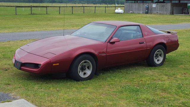 1991 Pontiac Firebird Low Mileage Classic Pontiac Firebird 1991 For Sale