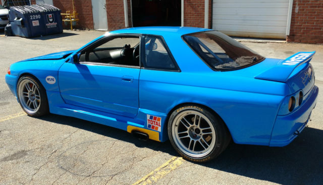 1991 r32 nissan skyline gtr calsonic blue 700hp us legal vin bnr32 016213 classic nissan gt r. Black Bedroom Furniture Sets. Home Design Ideas