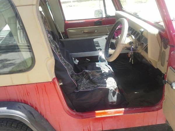 1991 Right Hand Drive Postal Mail Jeep Wrangler For
