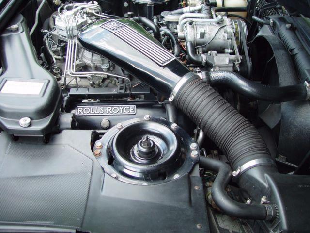 1991 rolls royce silver spur ii black red texas car no for Rolls royce motor cars dallas