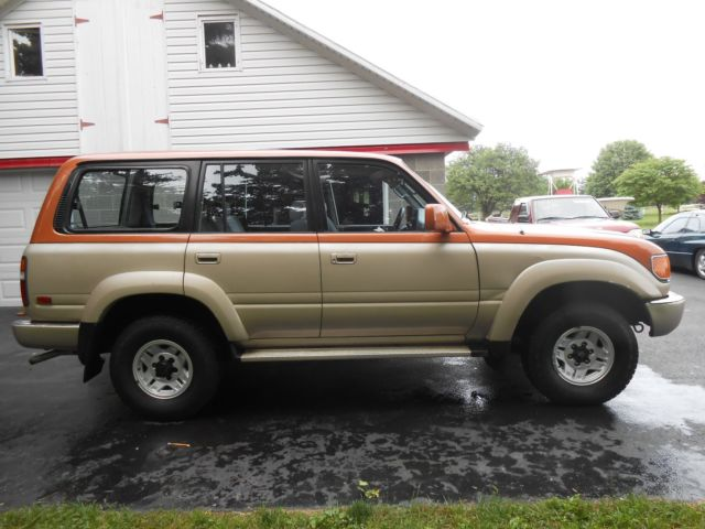 1991 toyota land cruiser md state inspected classic. Black Bedroom Furniture Sets. Home Design Ideas