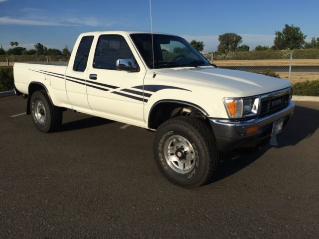 1991 Toyota Sr5 Pickup 4x4 Extra Cab 6 Cyl Efi Loaded With