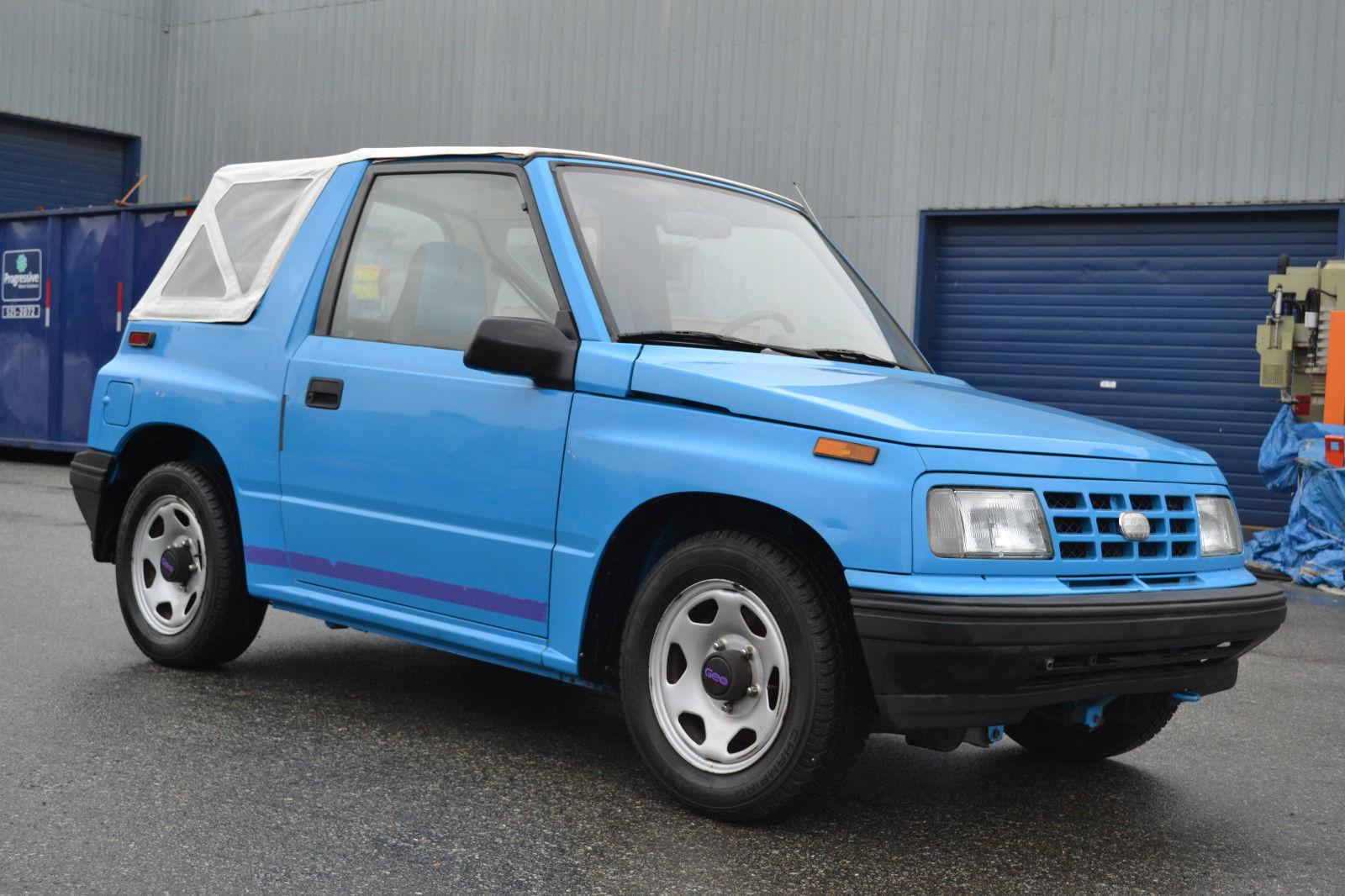 Toyota Floor Mats >> 1991 tracker CONVERTIBLE manual 5 speed like sidekick samurai sunrunner - Classic Suzuki ...
