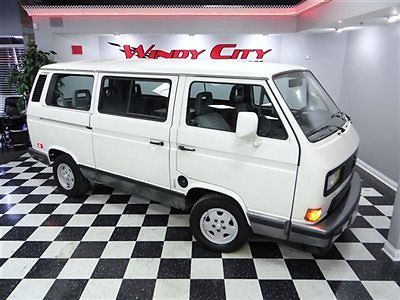1991 Volkswagen Vanagon Carat 7 Psngr Transporter 1 Owner 4-Spd Service History! - Classic ...