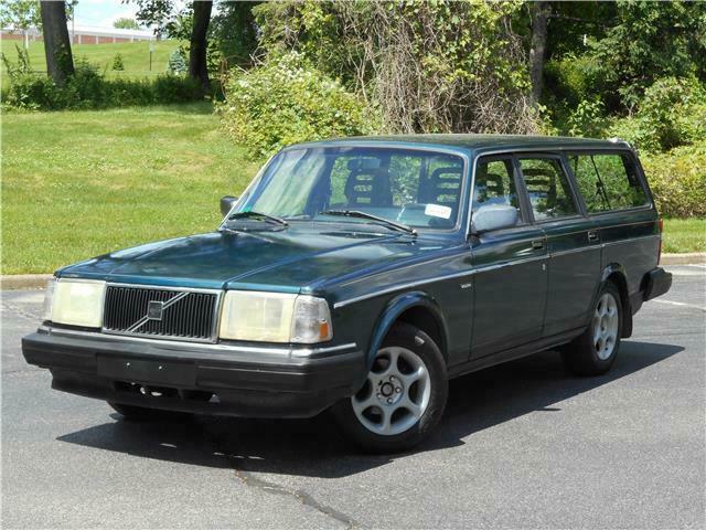 "1991 Volvo 240 Wagon (the classic ""Swedish Brick"") for ...   1991 Volvo 240 Wagon"