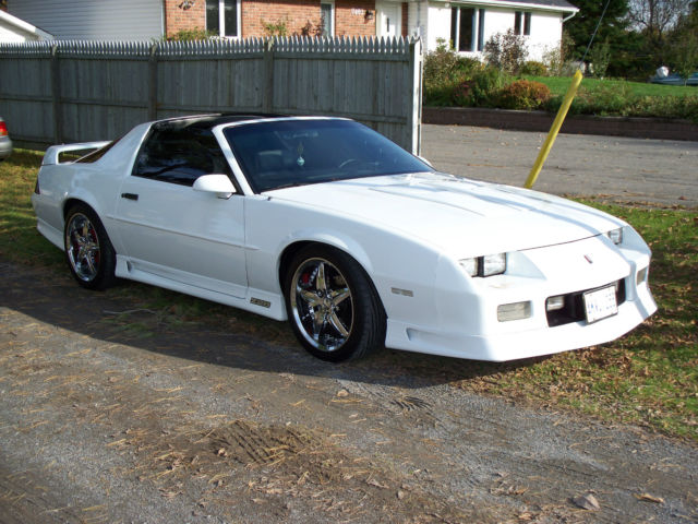 1991 1992 Pearl White 305 Tpi Z28 Camaro 1le T Top Classic Chevrolet Camaro 1991 For Sale