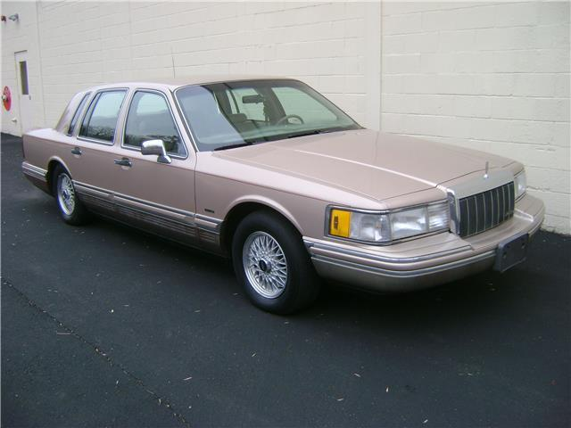 Lincoln Town Car Cartier For Sale