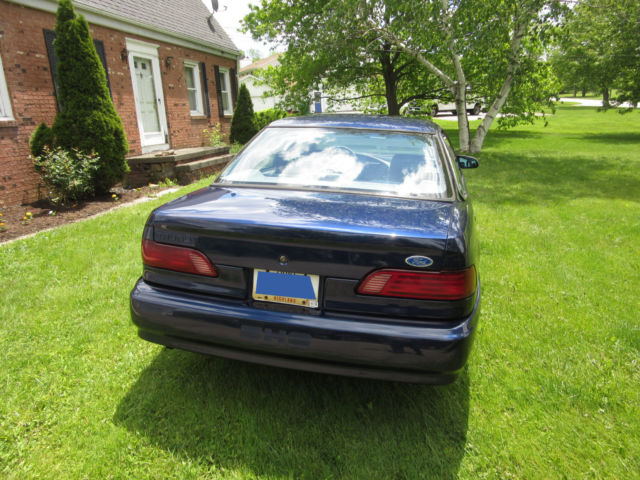 1992 blue ford taurus sho 5 speed manual in ne ohio excellent condition classic ford. Black Bedroom Furniture Sets. Home Design Ideas