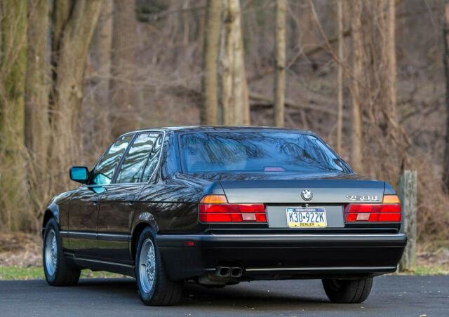 1992 Bmw 750il V12 Rare Southern Car Low 88k Miles Serviced Carfax