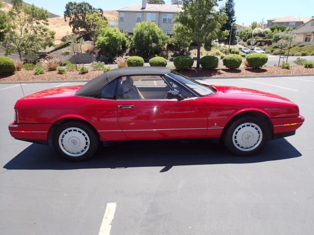 1992 Cadillac Allante **** 1-Owner **** CLEAN TITLE **** 29K Miles SUPER CLEAN - Classic ...