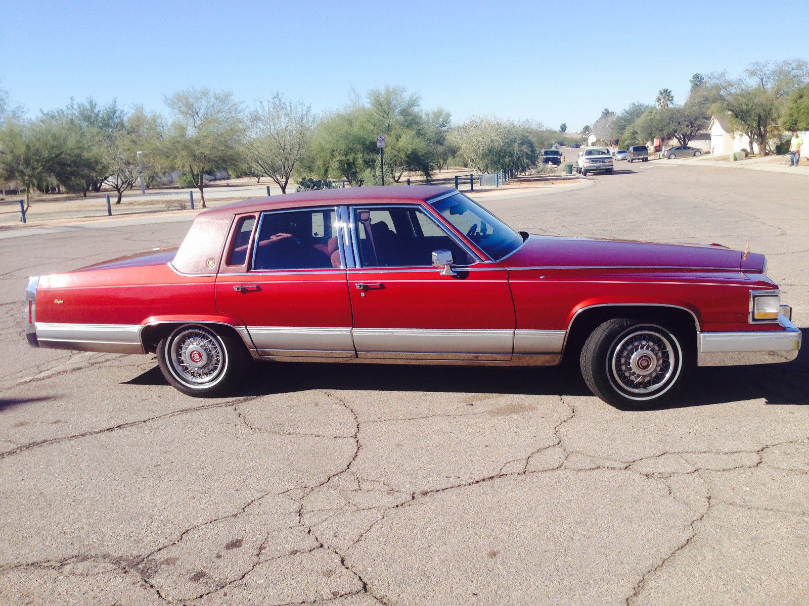 1992 Cadillac Brougham 5.0 With 77,500 Miles. Exterior And