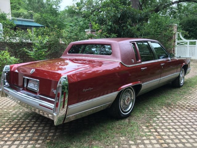 1992 cadillac brougham d 39 elegance classic cadillac brougham 1992 for sale. Black Bedroom Furniture Sets. Home Design Ideas