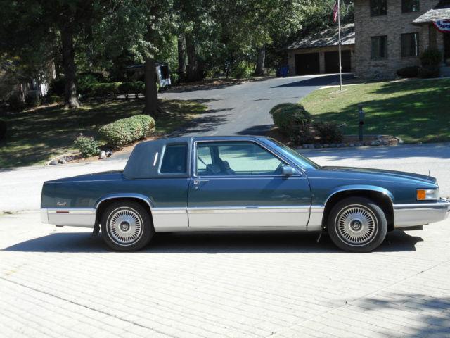1992 cadillac coupe deville 4 9 liter v8