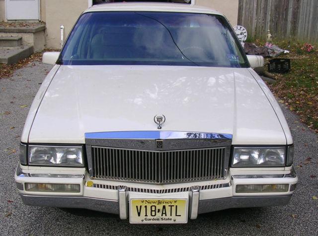 1992 Cadillac Deville No Reserve Sedan 4 Dr 4 9l Rolls