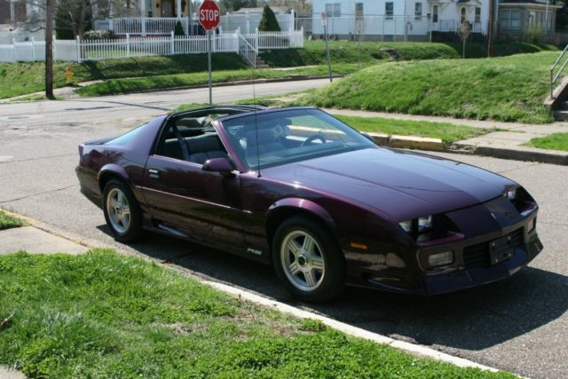 1992 camaro rs 5 0l 25th anniversary edition rare purple. Black Bedroom Furniture Sets. Home Design Ideas