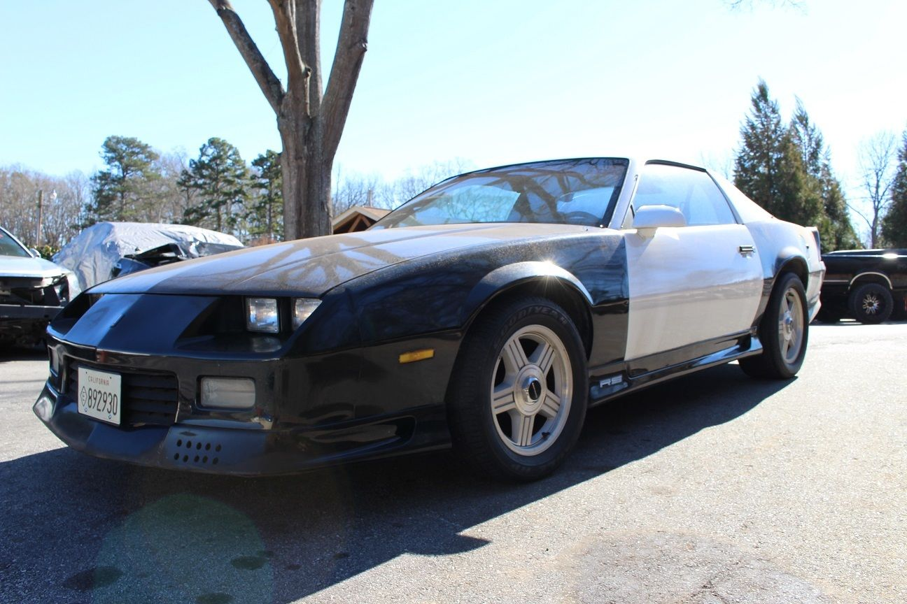 1992 Camaro RS B4C Special Service Package California HP 1LE