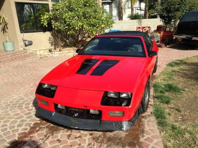 1992 Camero Z28 Convertable, 'Limited Edition 25th yr Anniversary