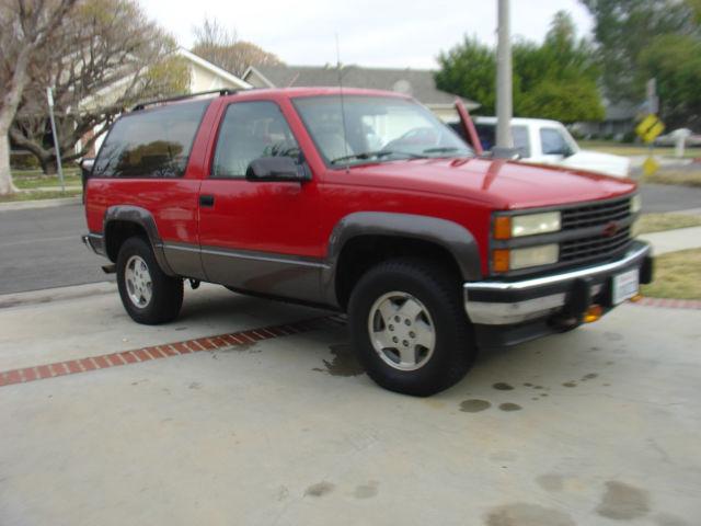 1992 Chevrolet Blazer 2 Door 1993 1994 1995 1996 1997 1998 border=