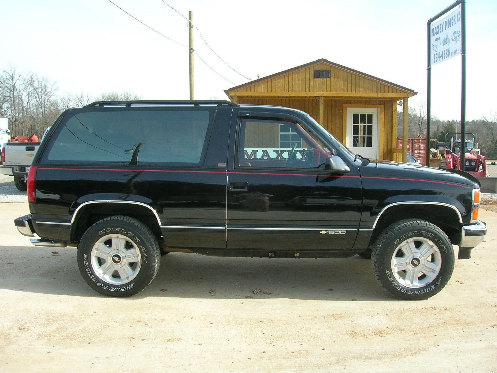1992 CHEVROLET BLAZER 2-DOOR - Classic Chevrolet Blazer ...