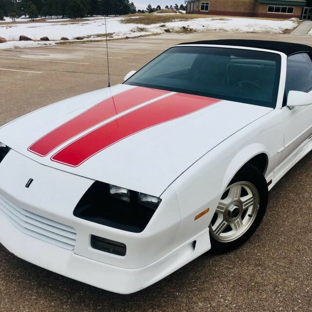 1992 Chevrolet Camaro Rs Heritage 25th Anniversary Edition