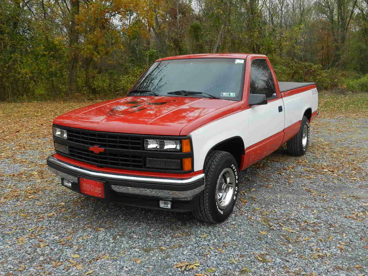 1992 chevrolet silverado c1500 pickup truck - ss350 - classic