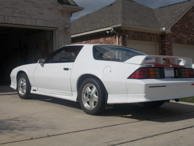 Totaled Cars For Sale >> 1992 Chevy Camaro Z28 25th Anniversary Heritage Edition - Classic Chevrolet Camaro 1992 for sale