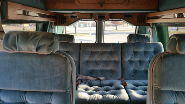1992 chevy gladiator conversion van runs great clean mississippi title 3 4 ton classic. Black Bedroom Furniture Sets. Home Design Ideas