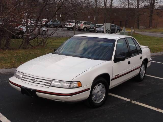 1992 Chevy Lumina Euro-Sport Sedan White Low Miles ...