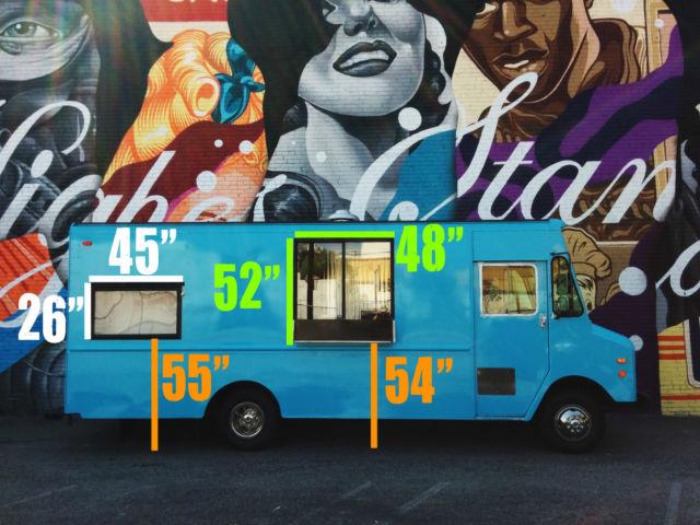 1992 Chevy P30 Step Van Food Ice Cream Truck RV Stepvan