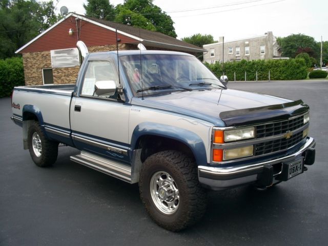 1992 Chevy Silverado 2500 Regular Cab 4wd / Diesel with only 88K miles - Classic Chevrolet C/K ...
