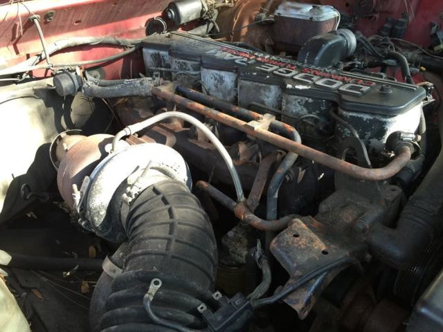 1992 Dodge Ram D 250 5 9l Cummins 12v Valve Need Ve 6cyl