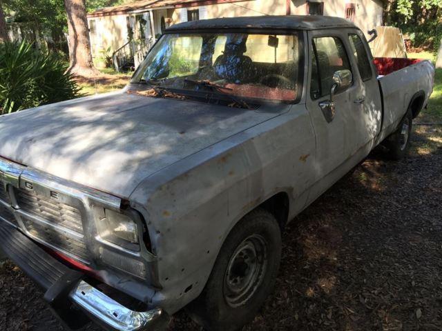1St Gen Cummins >> 1992 Dodge Ram D-250 5.9L Cummins 12v Valve Need VE 6cyl Parts Truck Dana 70 - Classic Dodge Ram ...