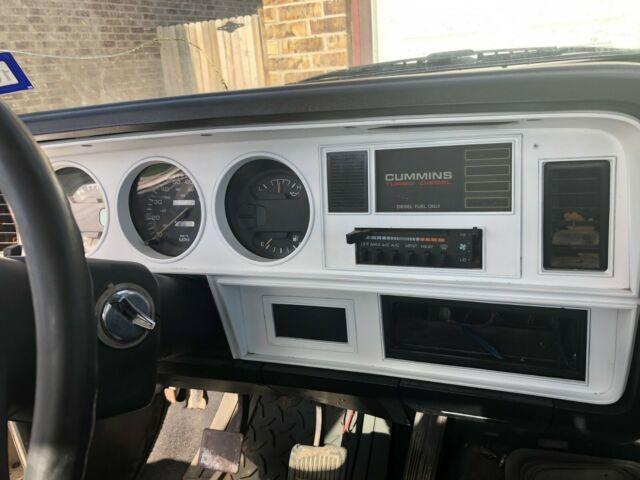 1992 Dodge Ram D250 Cummins Diesel 1st Gen 12 Valve 3  4
