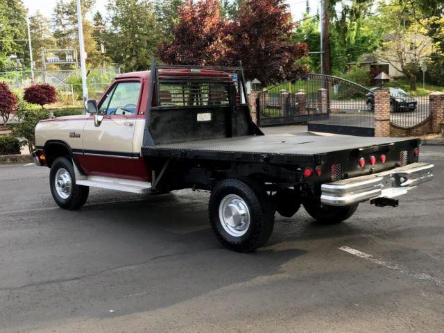 Dodge Ram W Reg Cab Manual L Valve Cummins Diesel Only K Miles